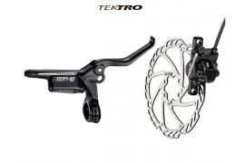 TEKTRO Kot. brzda TK-Draco 2 hydr. zadní (černá)