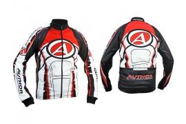 AUTHOR Bunda ARP-12 Blazer (bílá/červená/černá)