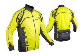 AUTHOR Bunda Blazer (13F neon žlutá / černá)