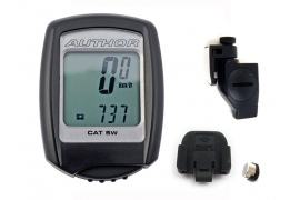AUTHOR Cyklopočítač A-Cat 5W (VT100W) (černá)