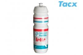 TACX Láhev TACX Pro Teams - Omega Pharma - Lotto 0,75l (bílá)