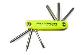 AUTHOR Nářadí AHT ToolBox 6 (signální žlutá / černá)