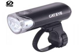 Světlo př. CAT HL-EL135 Crn s bat.